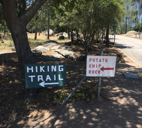 What to Expect Climbing Potato Rock Chip Hike