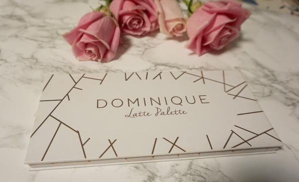 Dominique Cosmetics Latte Palette Review