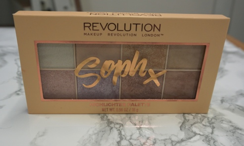 makeup revolution london sophx palette