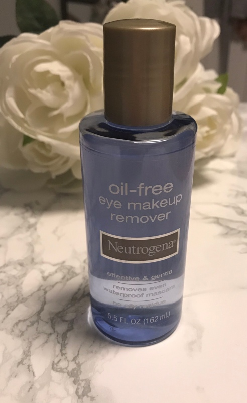 Neutrogena oil-free eye makeup remover review